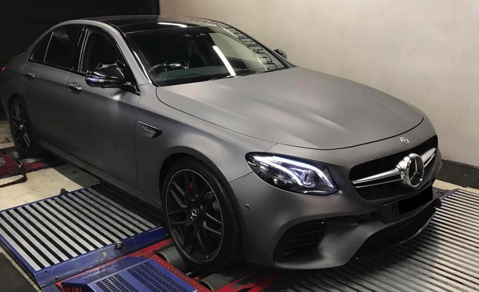 Mercedes C63S 4.0TT - Etuners Stage1 98RON ecu remap tuning