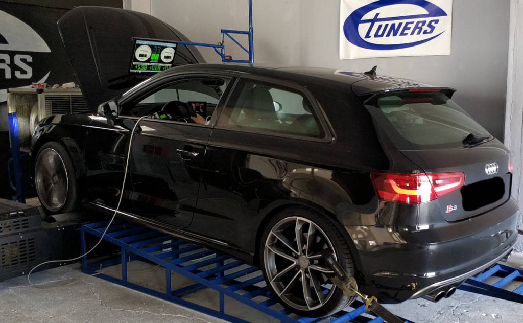 Audi S3 8V 2.0TFSI MY2015 - Etuners stage1 remap tune