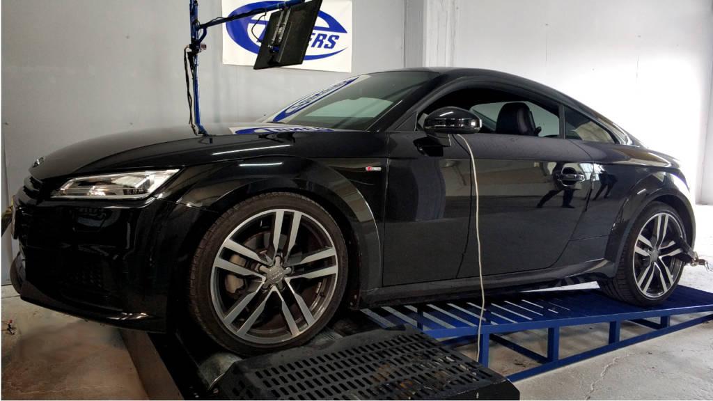 Audi TT 8S 2.0TFSI - Etuners Stage1 tune remap
