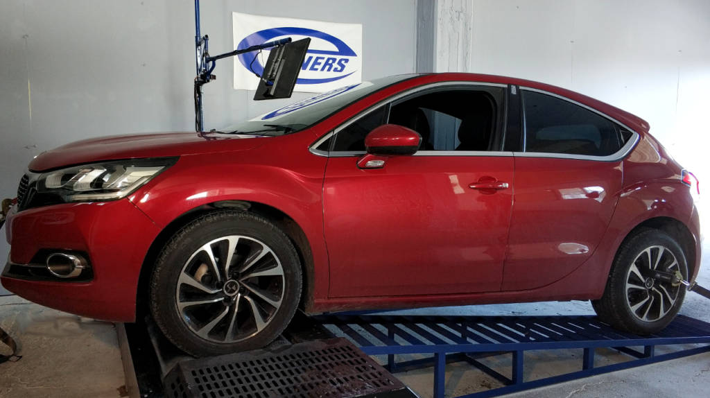 Citroen DS4 1.6 HDI120 - Etuners Stage1 remap tune