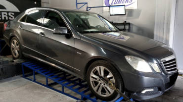 Mercedes E250 W212 1.8CGI Turbo – Stage1 95RON