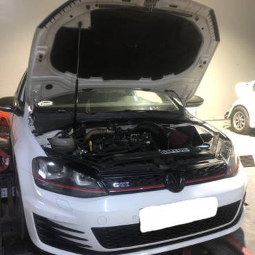 VW Golf 7 GTI 2.0TSI – Stage3 GTX28 turbo kit 98RON @440whp