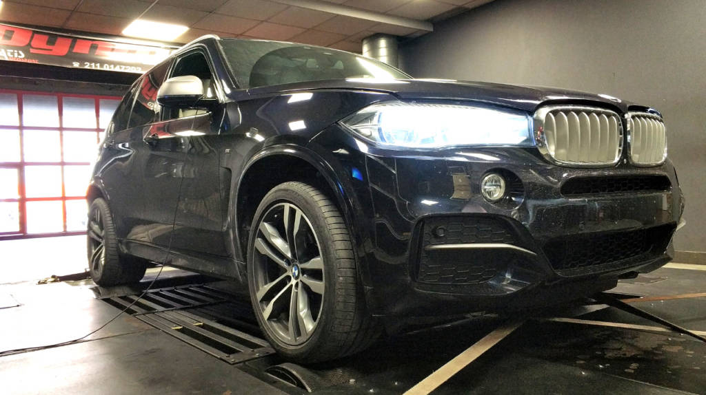 BMW X5M F15 50D - Etuners Stage1 ECU remap tune