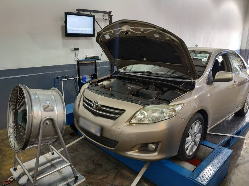 Toyota Corolla 2.0D4D - Etuners Stage1 remap tune tuning on dyno