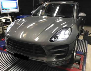 Porsche Macan S 3.6 V6 twin turbo – Stage1 98ron