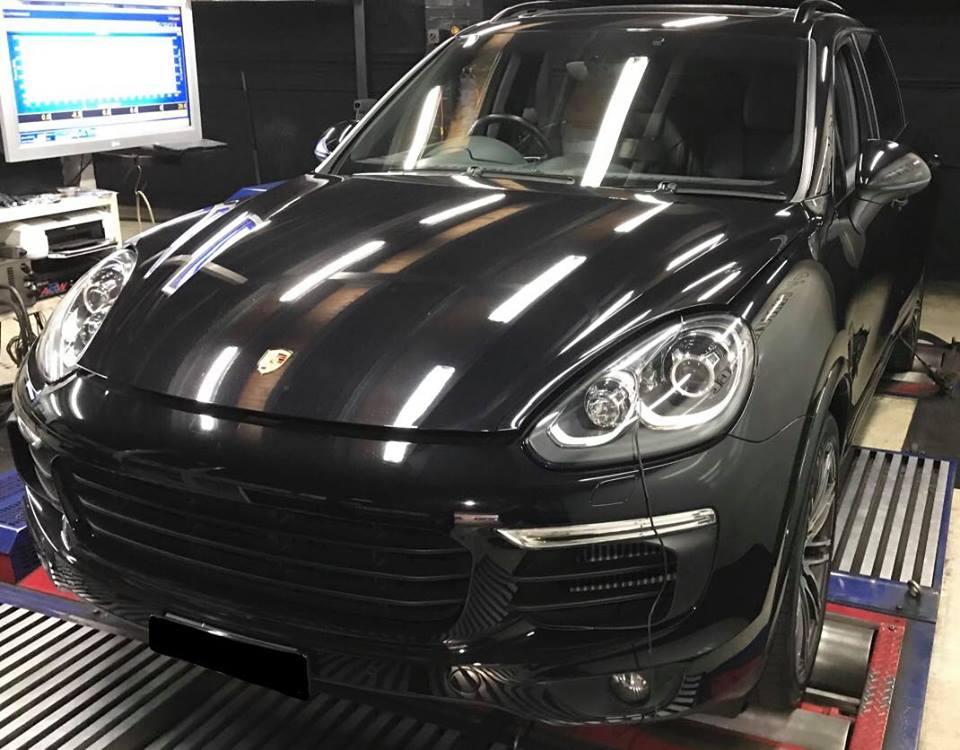 Porche Cayenne S 4.2 V8 Diesel-stage1 4
