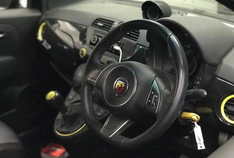 Fiat 500 595 TD04