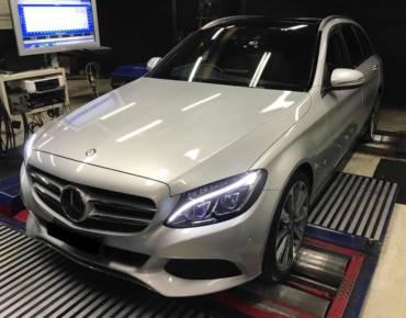 Mercedes C250 2.0T W205 MY2017 – Stage1 98RON