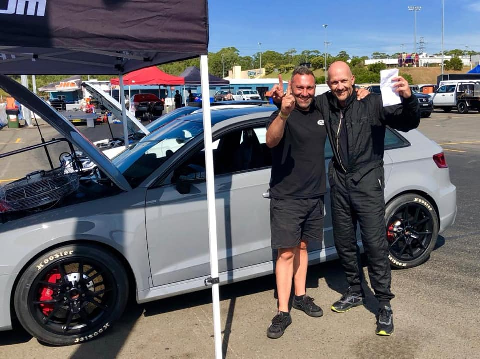 Mark's Audi RS3 8V.1 2.5TFSI - #Etuners Stage3 - World record