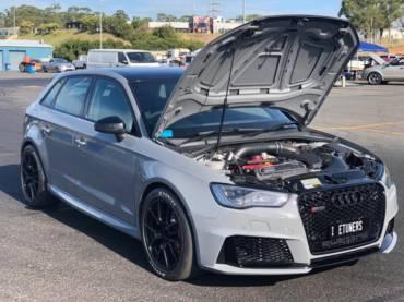 Mark's Audi RS3 8V.1 – World record at Sydney Dragway