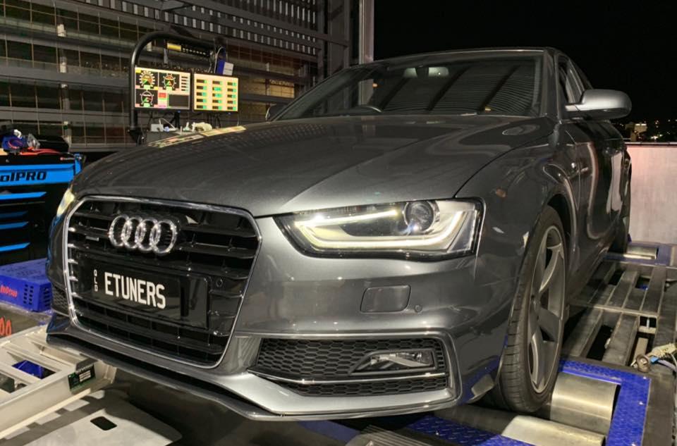 Audi A4 B8.5 3.0TFSI - Stage1 98RON tune remap dyno