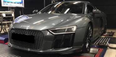 Audi R8 Plus 5.2FSI MY2017 – Stage2 98RON + Akrapovic titanium exhaust