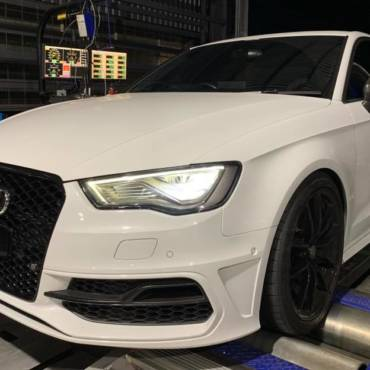 Audi S3 8V 2.0TFSI – Stage3 TTV4 98RON + WMI