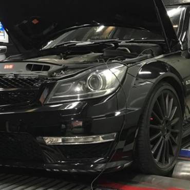 Mercedes C63 AMG 6.2 W204 MY2011 – Stage1 98RON