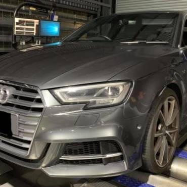 Audi S3 8V 2.0TFSI – Stage3 Snail460 98RON