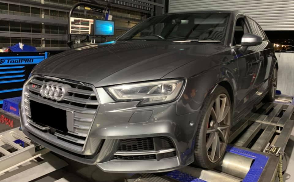 Audi S3 8V 2.0TFSI snail460 hybrid
