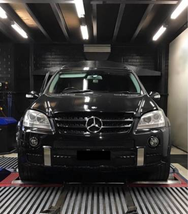 Mercedes ML63 AMG 6.2 MY2008 – Stage1 98RON
