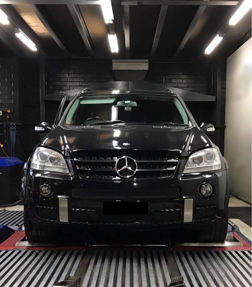 Mercedes ML63 AMG stage1