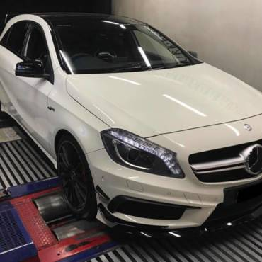 Mercedes A45 AMG 2.0T W176 – Stage1 98RON