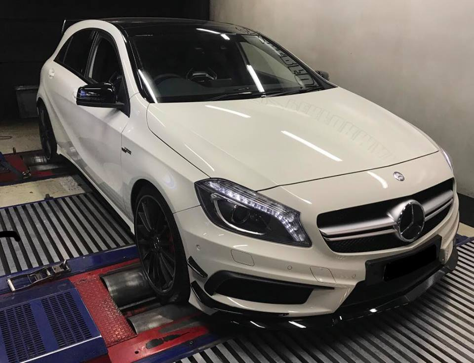Mercedes A45 AMG Stage1