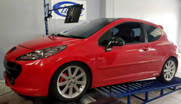 Peugeot 207GT 1.6THP – Stage4 Hybrid turbo + THP boost control system remodelling