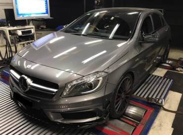 Mercedes A45 AMG W176 – Stage3 GCG Hybrid Turbo 98RON