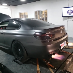 BMW M6 F06 4.4T - Etuners Stage2 tune remap on dyno