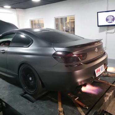 BMW M6 F06 4.4T – Stage2 100RON + wmi