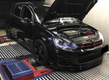 VW Golf 6 GTI 2.0TSI DSG6 – Stage2 98RON + crackles vs canned remap