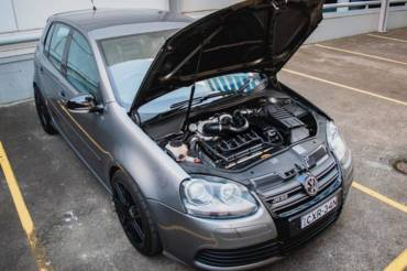 VW Golf 5 R32 – Stage3 98RON – John's twinturbo kit