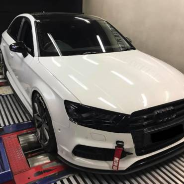 Audi S3 8V 2.0TFSI – Stage3 98RON IS38 hybrid turbo