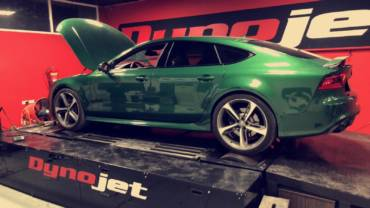 Audi RS7 C7 4.0TFSI – Stage1 98RON + AWE Tuning intake kit