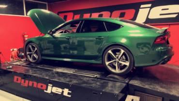Audi RS7 C7 4.0TFSI – Stage1 98RON + AWE Tuning intake kit