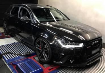 Audi RS6 C7 4.0TFSI – Stage2 98RON + AL551 + Akrapovic Titanium exhaust