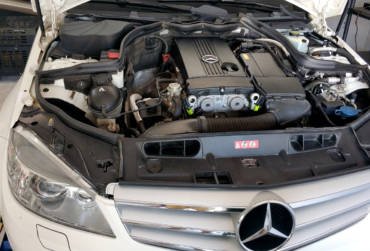 Mercedes C180 W204 1.8K 156hp MY2010 – Stage1 95RON