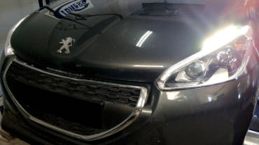 Peugeot 208 1.4HDI DV4C – Stage3 hybrid turbo + intercooler