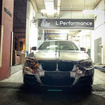 BMW M135i F20 – Stage2 98RON + crackles