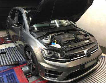 VW Golf 7R 2.0TSI – Stage1 98RON ECU + DSG