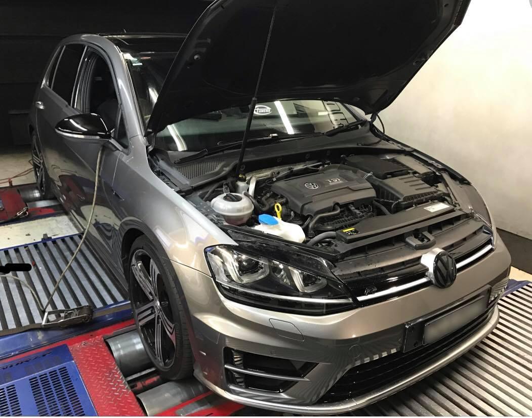 VW Golf 7R 2 0TSI – Stage1 98RON ECU + DSG – eTuners