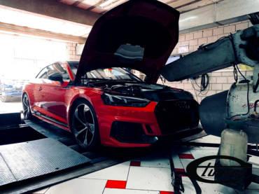 Audi RS5 B9 2.9TFSI – Stage1 98RON + AWE cold air intake kit