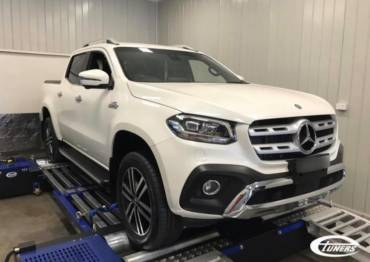 Mercedes X350D 4Matic – Stage1
