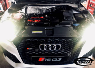 Audi RSQ3 2.5TFSI – Stage3 RPCMotorsport 95RON+Wmi