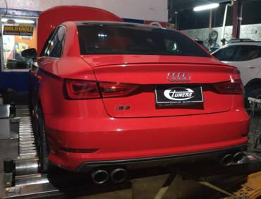 Audi S3 8V.1 2.0TFSI – Stage3 CTS BB-550 hybrid turbo 95RON+wmi