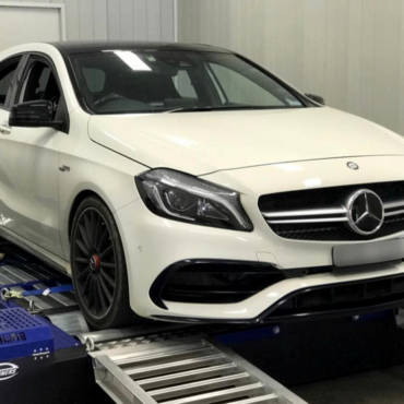 Mercedes A45 AMG 2.0T MY2016 – Stage2 98RON + Wmi