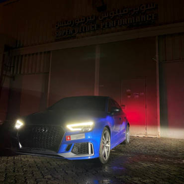 Audi RS3 8V.2 2.5TFSI – Stage3 98RON + wmi RPC850 turbo kit: 100-200km/h in 5.08s