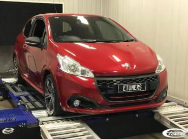 Peugeot 208 GTI 1.6T THP208 – Stage1 98RON