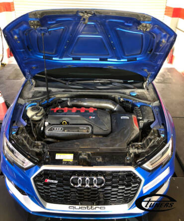 Audi RS3 8V.2 2.5TFSI – Stage3 Pure800 hybrid 98RON