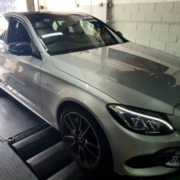 Mercedes C43 AMG 3.0T – Stage1 97RON