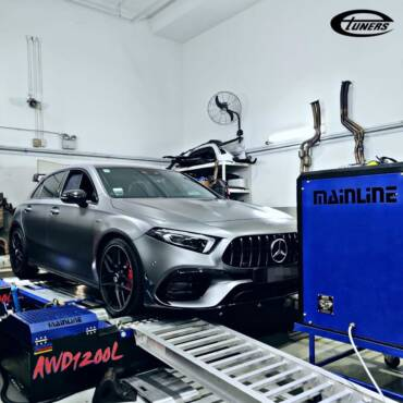 Mercedes A45S AMG W177 2.0T – Stage1 98RON