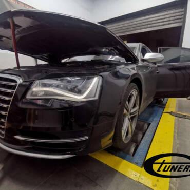 Audi S8 D4 4.0TFSI – Stage3 Turbosystems hybrid turbos